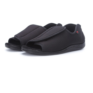 Diabetic shoes foot wide old man's foot deformation middle-