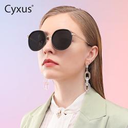 【景甜推荐】cyxus女防紫外线太阳镜