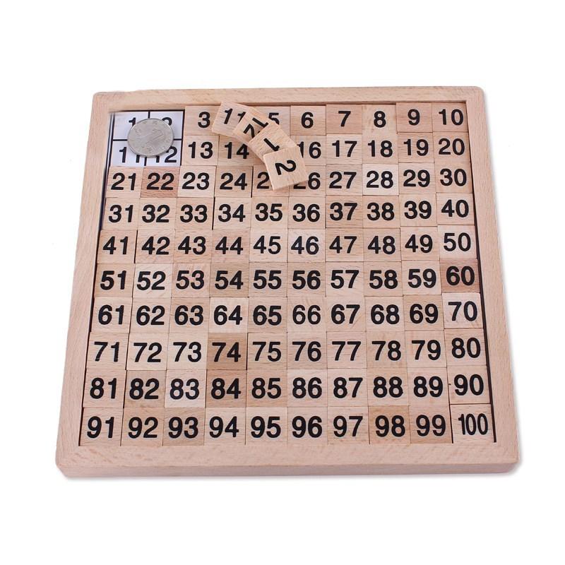 1到100数字板实卡片启蒙百子贴小班学认识表玩具幼儿趣味器一到