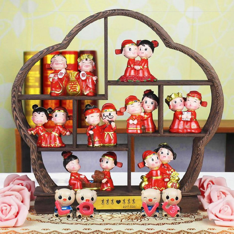 The 20th anniversary of marriage decorates personality 20 golden wedding room with children can choose silver wedding couple business package