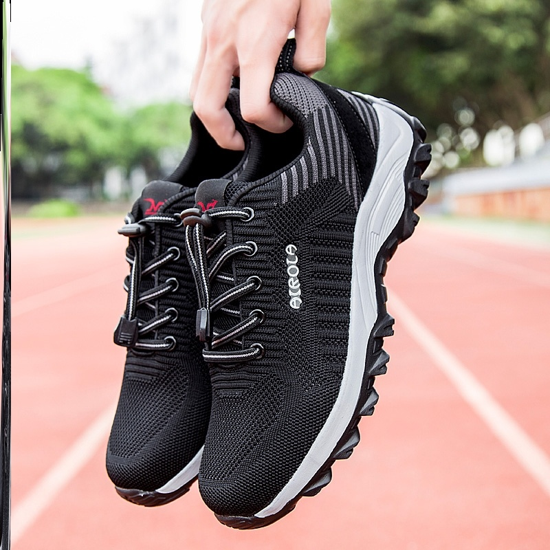 ? Mens shoes mens spring and summer breathable mesh shoes odor proof large womens dancing shoes mens comfortable walking and antiskid