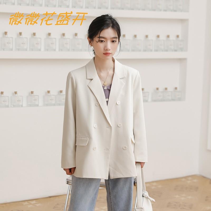 2021活动精选力推时尚爆款韩版简约气质百搭宽松休闲西装外套女