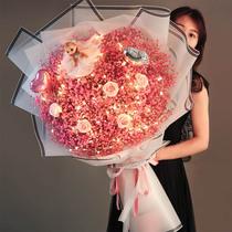 女生日礼品桌面装饰摆件蝴蝶女孩家居可爱少女心泡泡女孩态生活