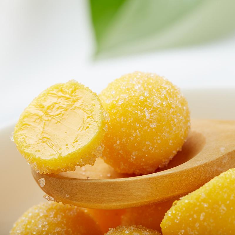 乐口佳芒果味水果果汁芒果味糖果
