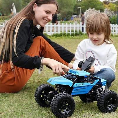Amphibious remote control high speed car climbing off-road