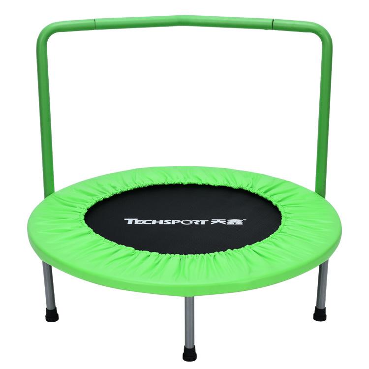 Childrens trampoline family trampoline indoor baby trampoline bungee with armrest spring trampoline