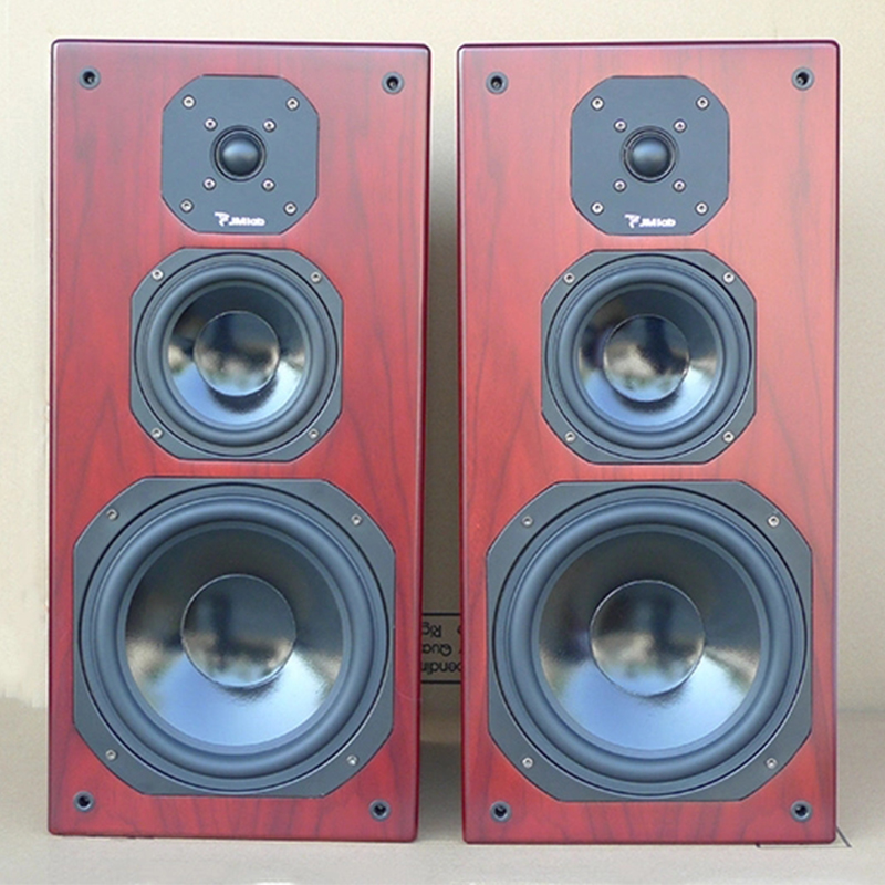 原装进口B W天朗书架音响8寸三分频发烧hifi家用无源木质劲浪音箱