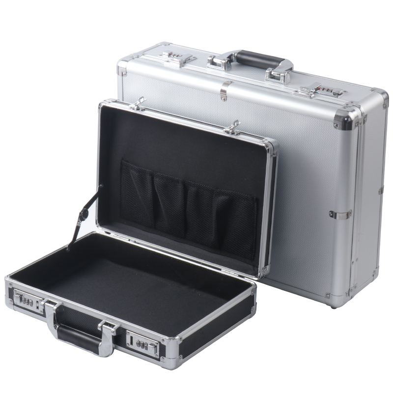 Aluminum alloy tool box, instrument and equipment, storage box, small file, safety code box, suitcase, large size, customized