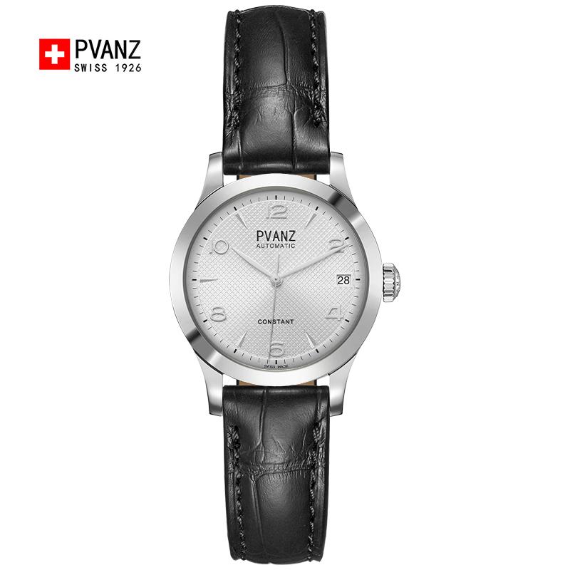 スイス腕時計の宝梵哲2020新型女性シンプル気質ベルト防水全自動女性式機械時計