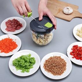 打菜菜剁神器搅辣椒手动厨房粉碎机