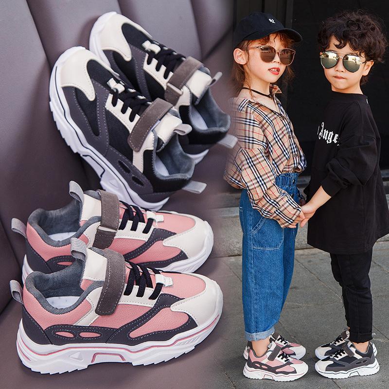 2020冬季新款儿童运动鞋男童二棉学生舒适女童跑步鞋防滑休闲鞋