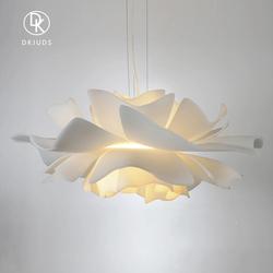 意大利设计师创意花朵吊灯 北欧简约个性网红ins餐厅少女卧室吊灯