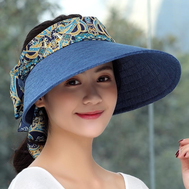 Students with ponytail sun hat learn drivers license sun hat childrens sun protection can be tied hair adjustable small head circumference