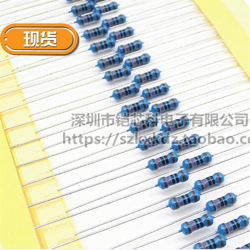 1 / 4W 0.25W 1s% metal film resistor 300K 330k 360K 390k 430k 470K / KA