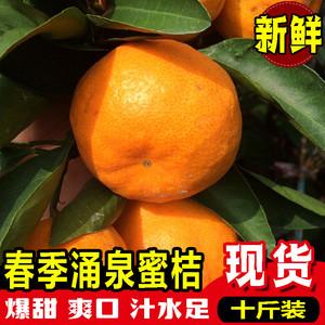 领【5元券】购买临海当季新鲜10斤装整箱春涌泉蜜桔