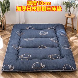 日式加厚榻榻米软垫打地铺单人床垫