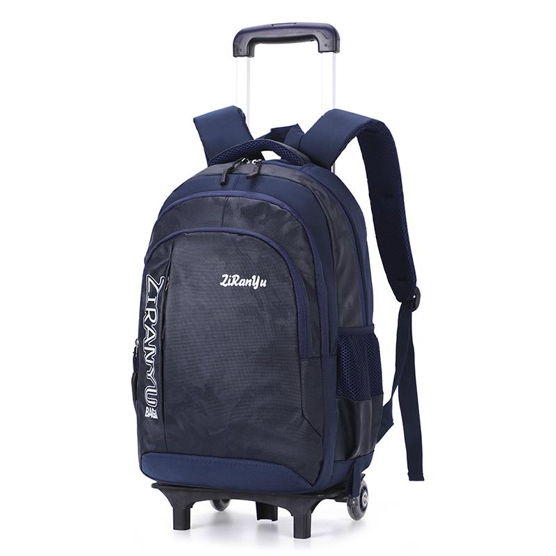 Japanese primary school students 4569 grade big boys suitcase backpack 3 junior high school boys pull-in schoolbag