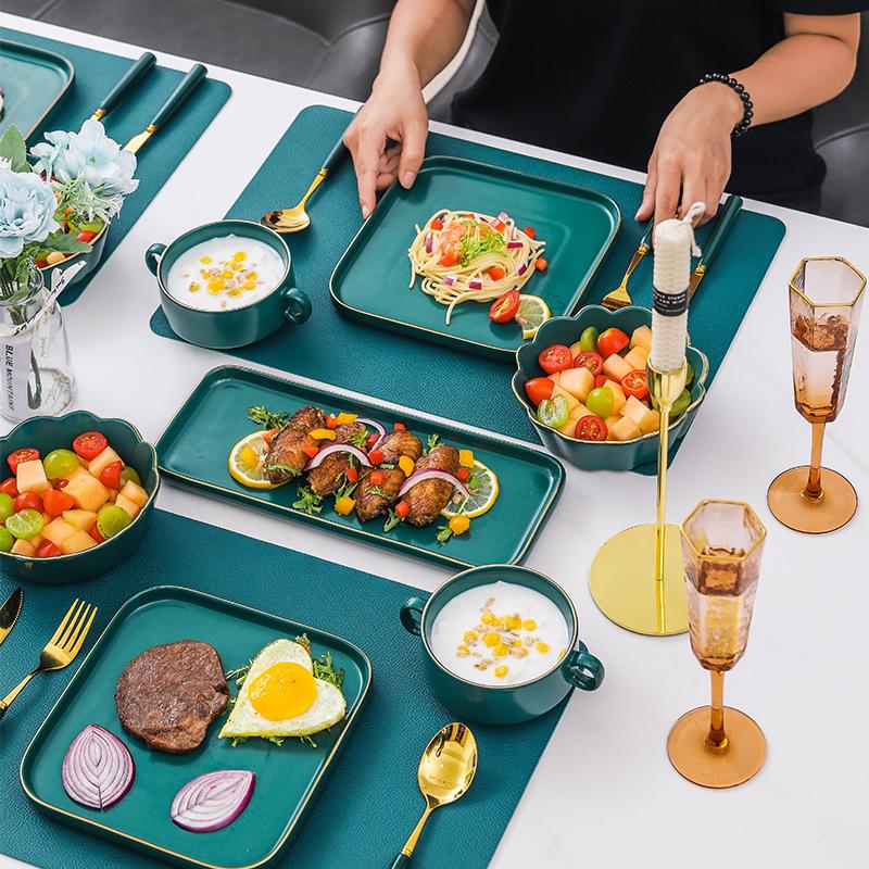 西餐餐具全套欧式牛排西餐西餐盘