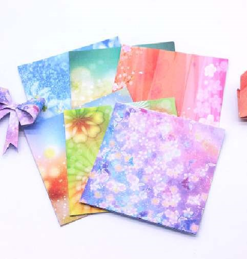 Multi functional printing material for working paper of peach heart small cardboard