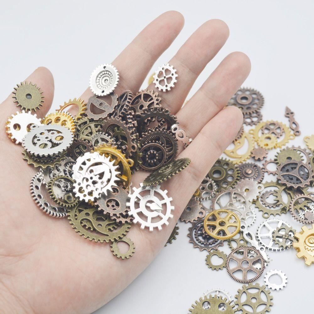 差速器齿轮 diy 手工金属零件配件大全机械小型装置拼装用品散件