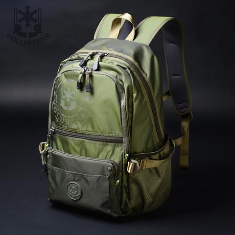 男双肩包时尚帆布包大容量休闲旅行包男士运动款牛津布背包书包女