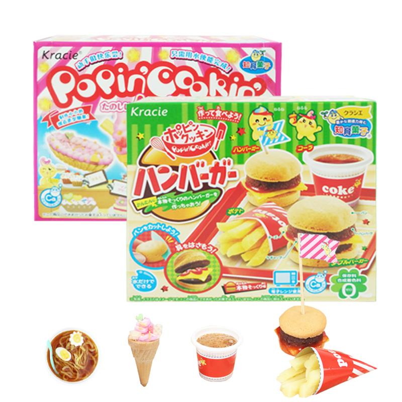 日本の食べ物と遊びが楽しめる伶のおもちゃハンバーガー日木食丸完小林ガール曰本diy知育菓