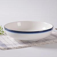 陶瓷水煮肉片碗冒菜碗拉面毛血小龙虾碗浅碗酒店餐厅饭店商用餐具