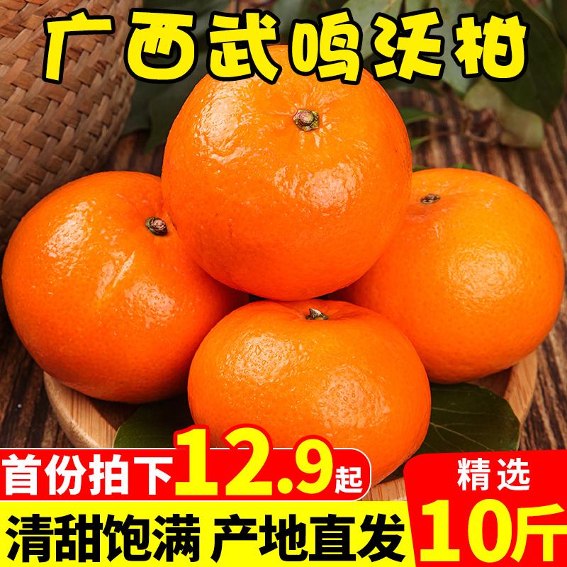 广西武鸣沃10斤新鲜皇帝丑整箱柑