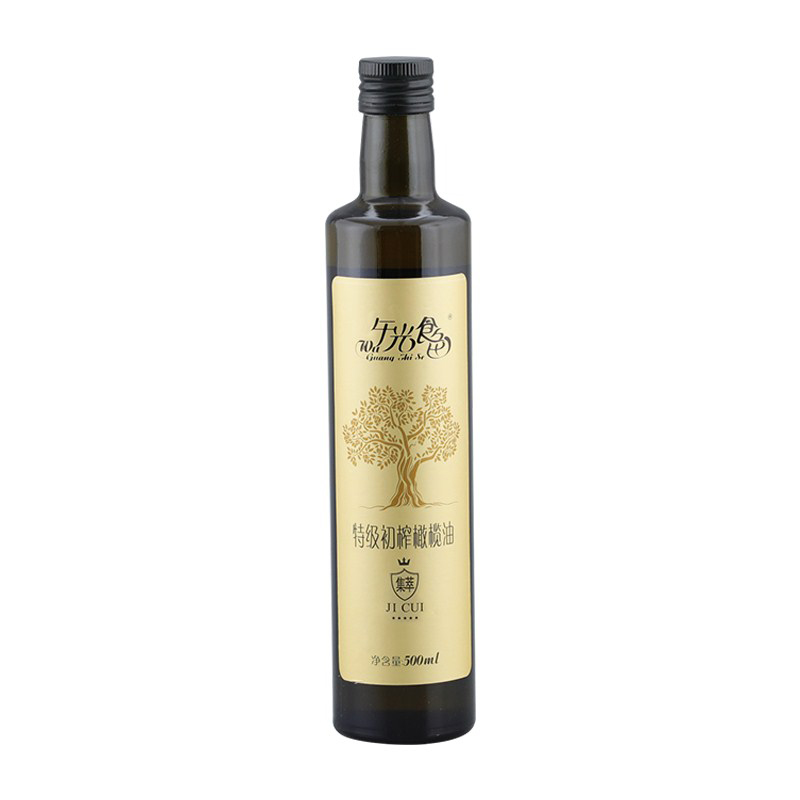 Wuguang food color extra virgin olive oil 500ml concentrated seasoning stir fried vegetables Chinese cooking oil