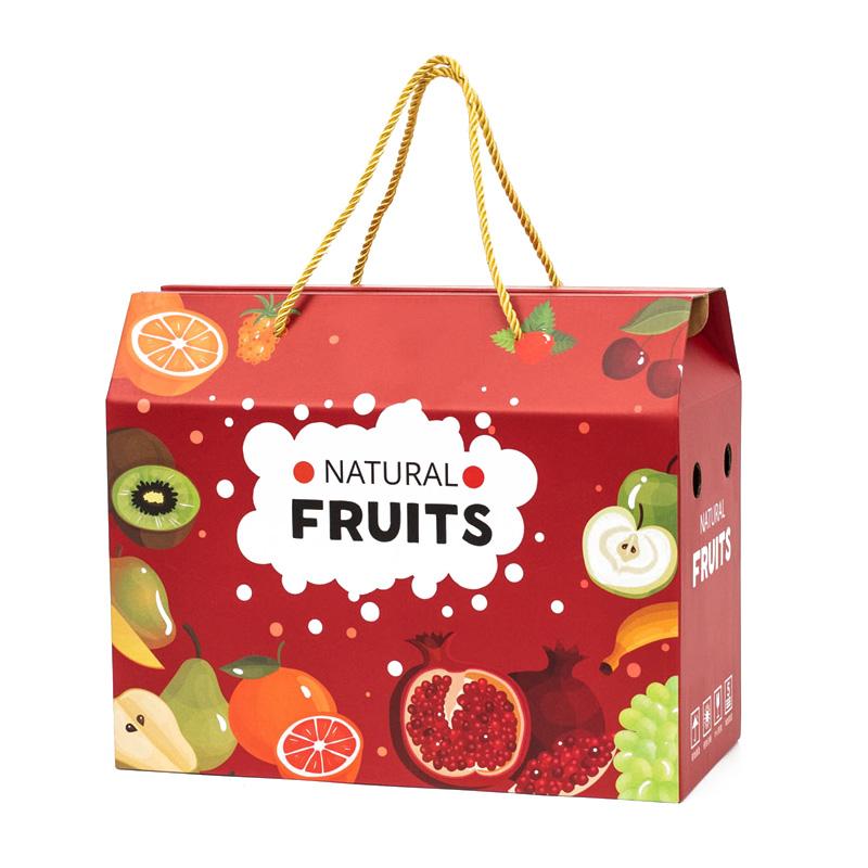 水果包装盒通用礼盒空盒子高档猕猴桃礼品盒葡萄桃子纸箱订做定制