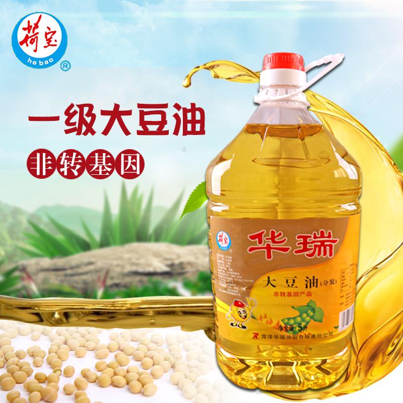 Hobo non transgenic grade I soybean oil 5L edible oil high quality soybean oil household commercial oil