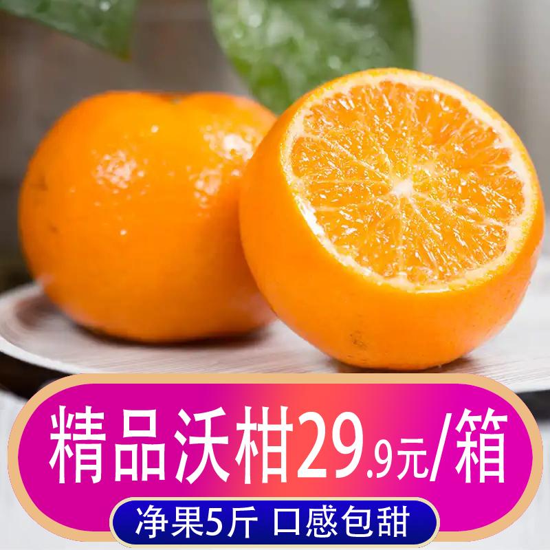 广西武鸣沃柑5斤桔子新鲜当季水果蜜桔橘子柑橘整箱10包邮