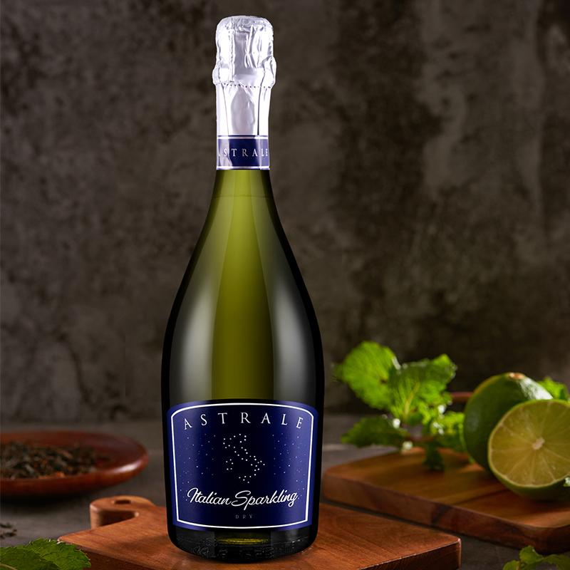 PICCINI 意大利名庄原瓶进口低度气泡单支星座干型白起泡酒葡萄酒