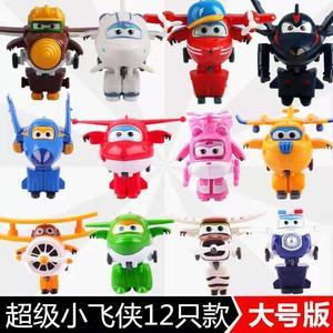超级飞侠玩具套装全套酷飞多多酷雷小爱小青大号变形飞侠玩具