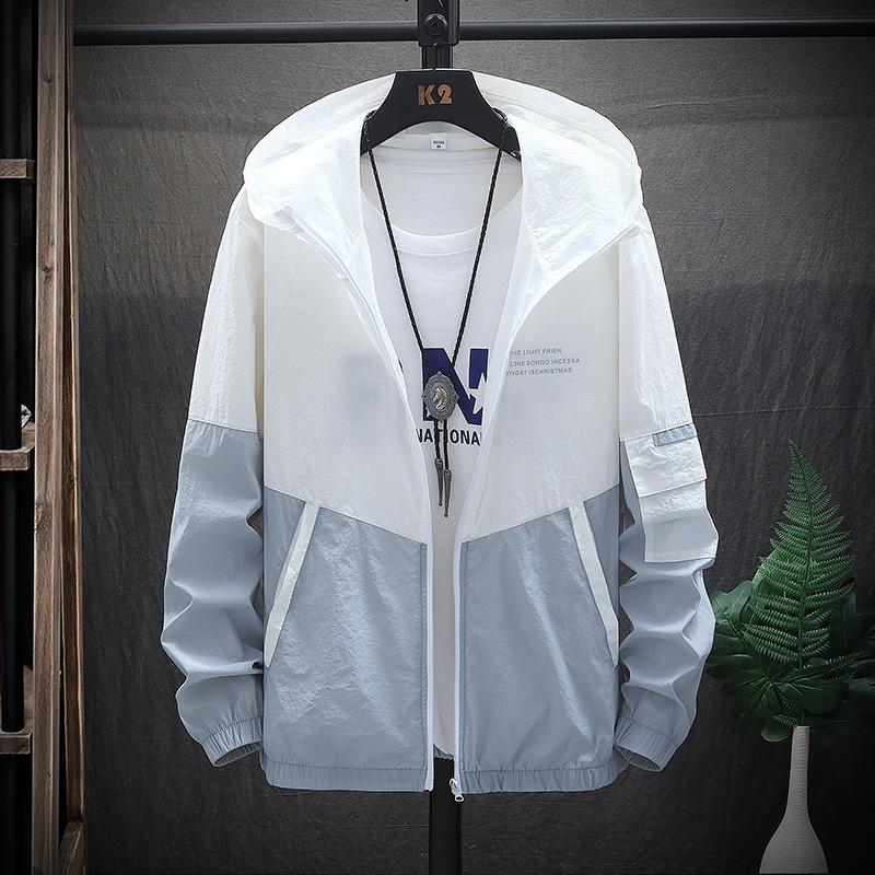 防晒服男女士超薄透气2021新款夏季情侣工装学生帅气潮牌衣服外套