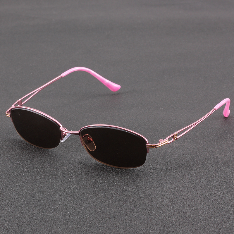 Donghai crystal glasses womens pure natural stone mirrors old mineral Sunglasses genuine flat glasses cool eyes