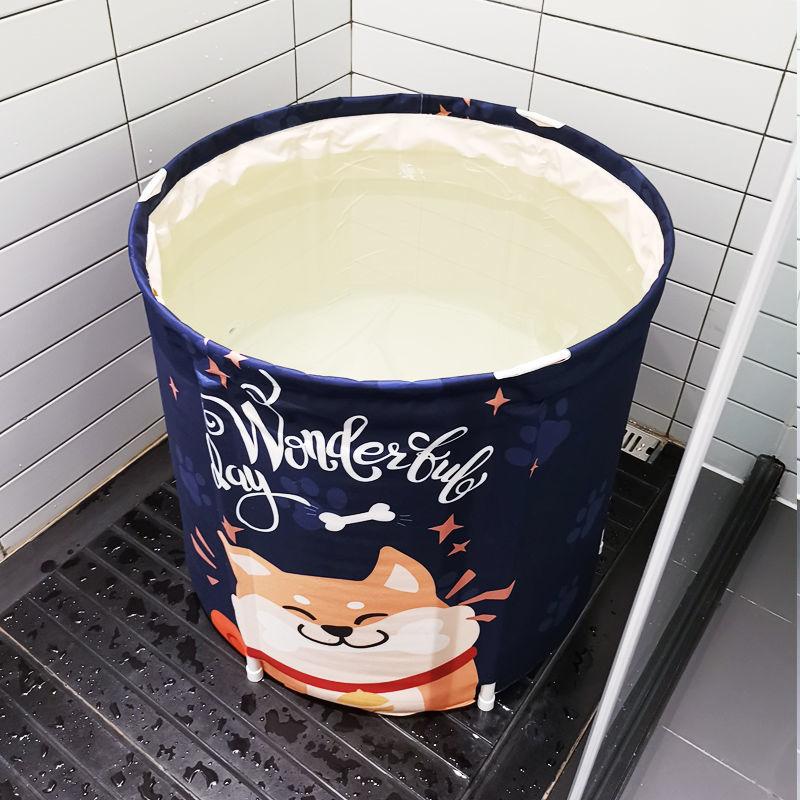 加厚折叠洗澡桶家庭浴桶成人大号泡澡桶家用浴缸儿童洗澡桶浴盆