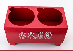 柜通用不绣纲角消防箱固定厂房配置放置简易不绣钢灭火器架子宾馆