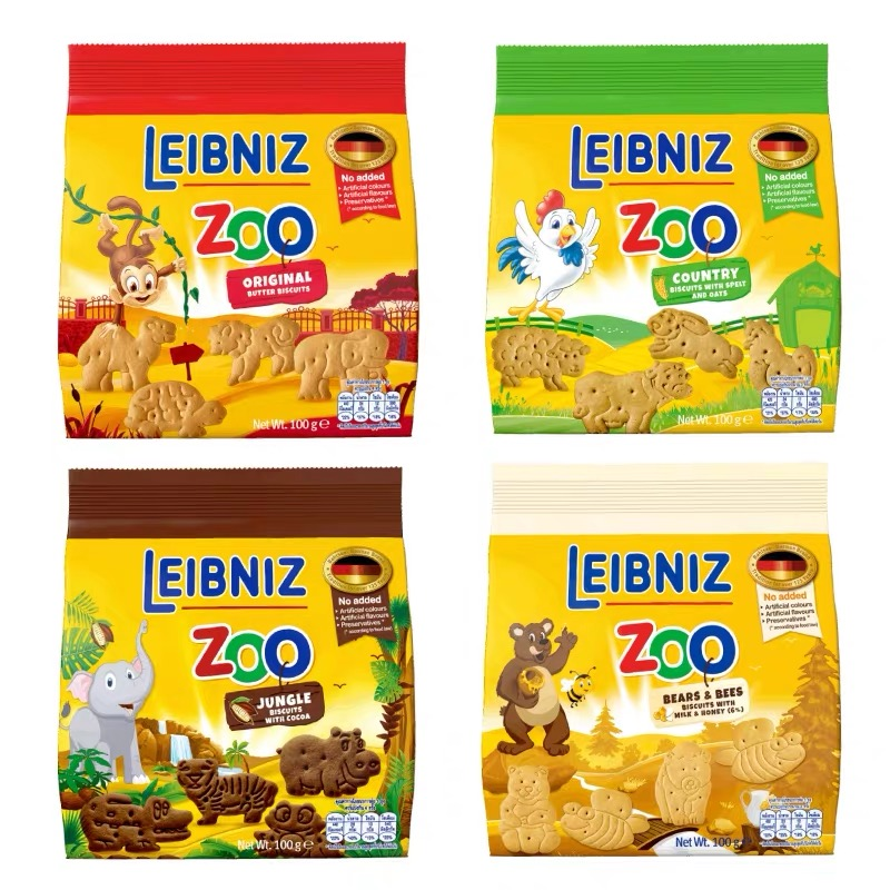 Bahlsen baloshun imported from Germany Zo animal biscuit baby nutrition breakfast childrens snack
