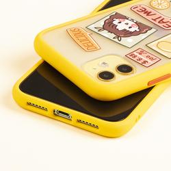 适用苹果11手机壳iPhone11promax保护套苹果x手机壳硅胶防摔卡通8/7plus保护壳撞色小女孩可爱超萌少女xs/xr