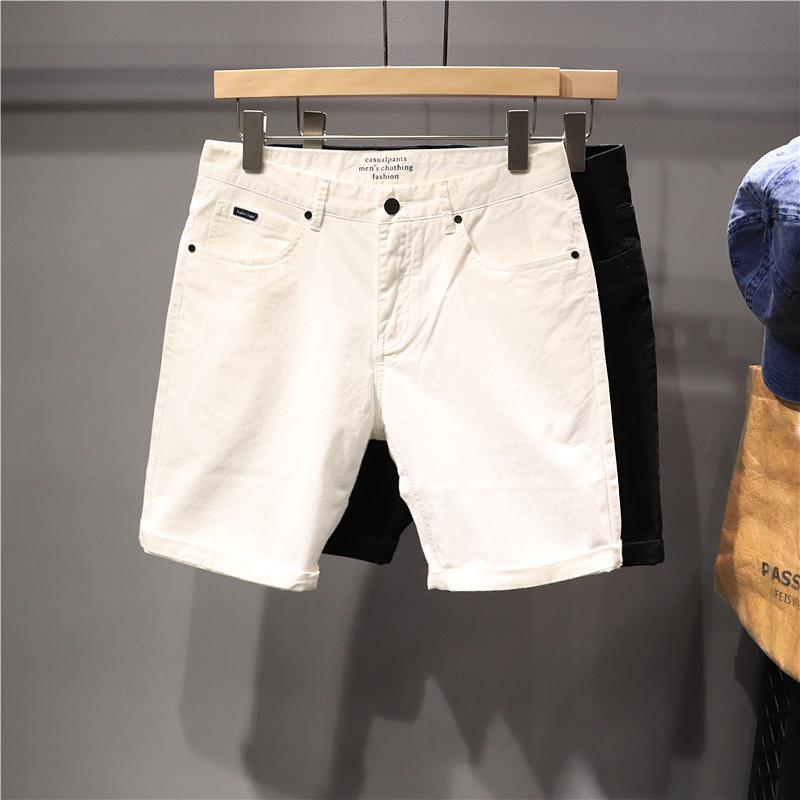 毒类欧美夏季运动男款直筒5分裤