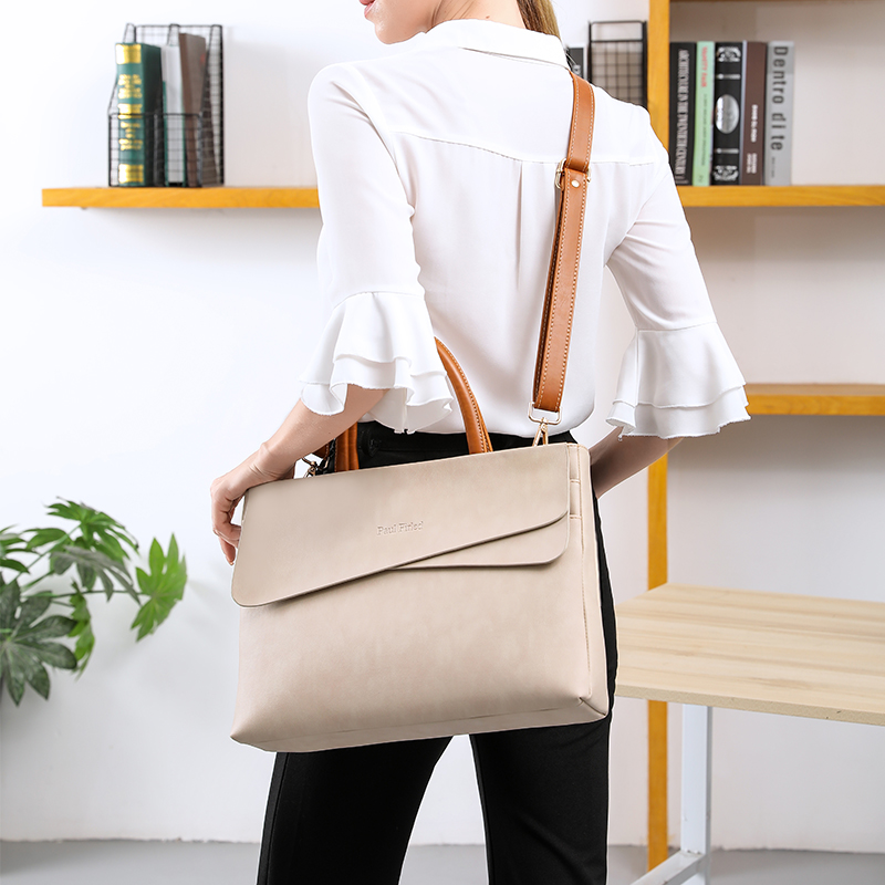 Professional bag womens portable business work work large capacity file computer bag 14 inch 13 lawyer briefcase