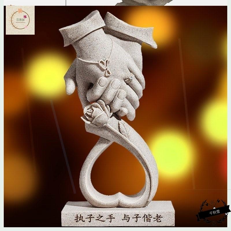 摆件结婚金婚银婚纪念礼物周年纪念日贺寿祝寿礼品白头偕老
