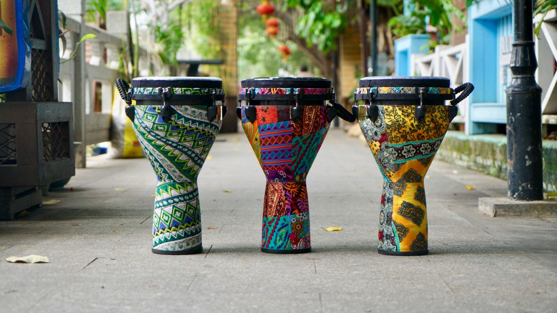Yangyang African drum adjustable and changeable drum skin synthetic professional hand drum
