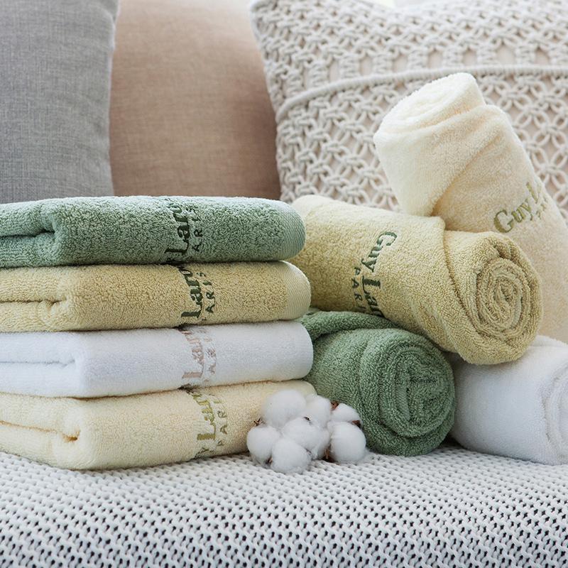 姬龙雪韩国进口纯棉吸水柔软加大加厚多色可选毛巾160克可团购