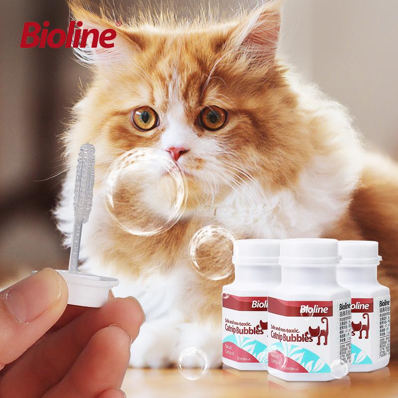 Bioline猫ミント泡水猫のインタラクティブおもちゃセットペット玩具用品