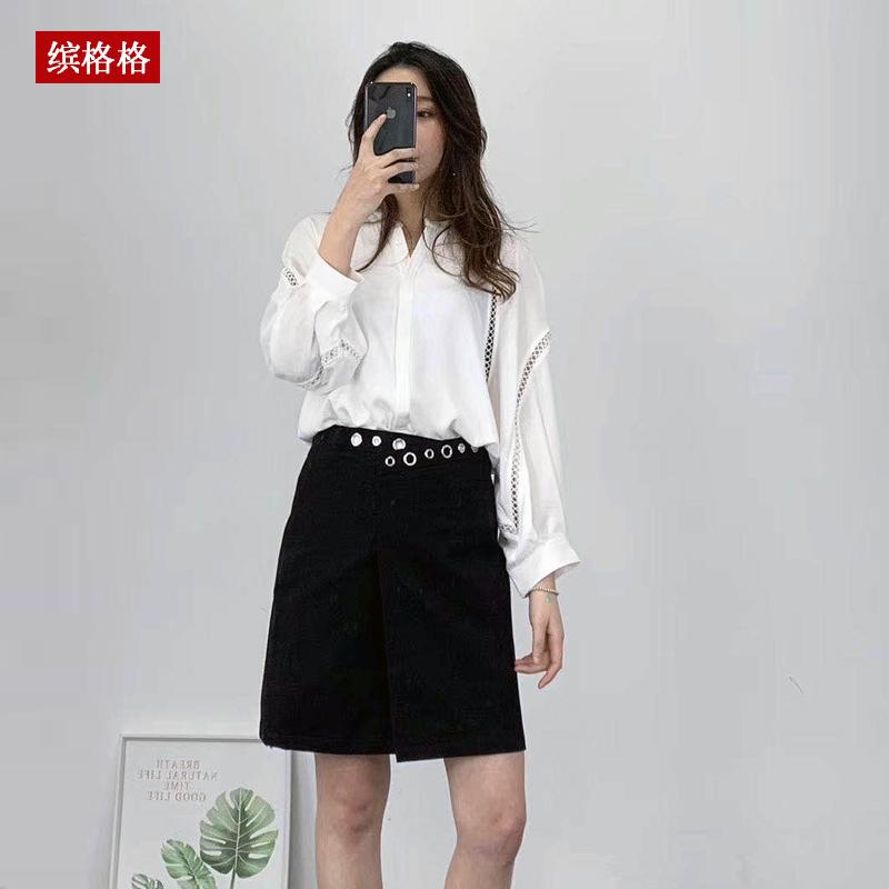 Medium sleeve top with Quarter Sleeve white shirt for womens design