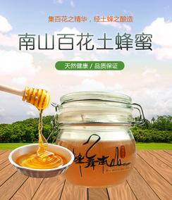 城步蜂蜜 南山森林公园蜂舞南山高活性酶 野生土蜂蜜领券特价500G