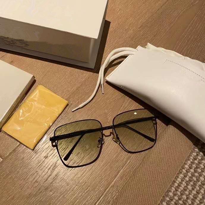 方框渐变色墨镜女韩版简约潮网红复古太阳镜男女开车眼镜防紫外线