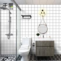 現代簡約純色素色仿亞麻布草編墻紙條紋中式復古客廳臥室工程壁紙